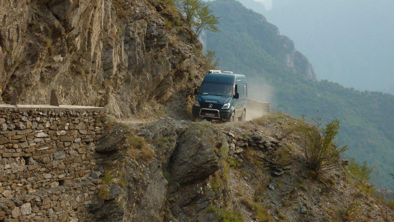 AL1526 - Albanien Camping Offroad