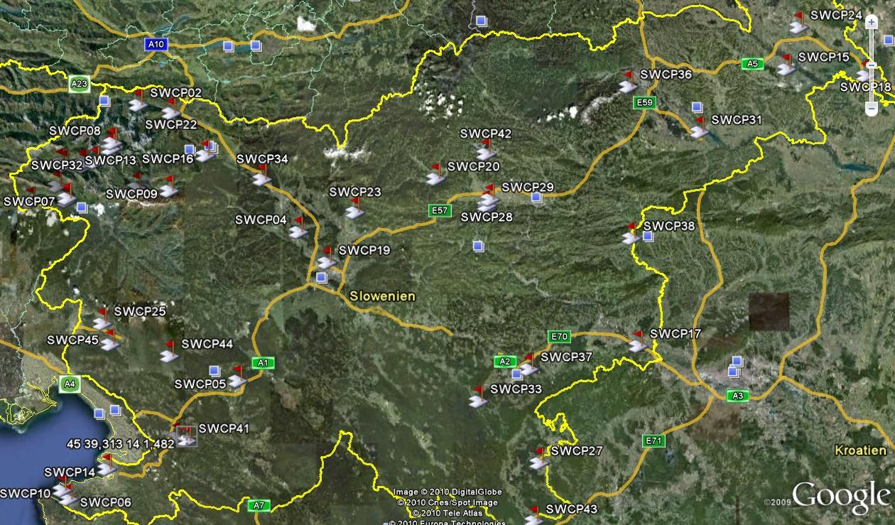 camping in slowenien: